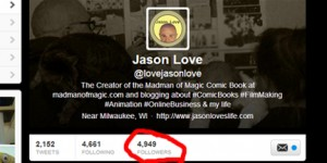 4950 followers